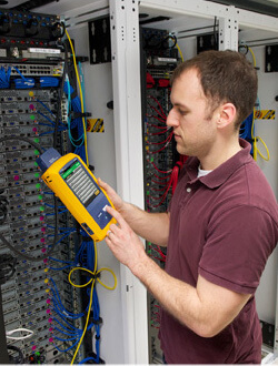 Fluke DSX-5000 Cable Analyzer Used for Structured Cabling testing